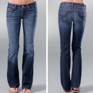 7 for all mankind flint boot cut  jeans